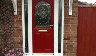 2 Panel 1 Arch in Red
